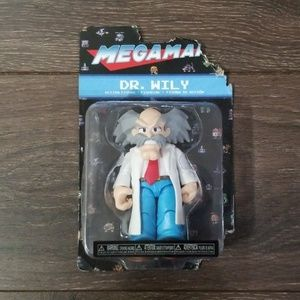 Megaman Dr. Wily Action Figure